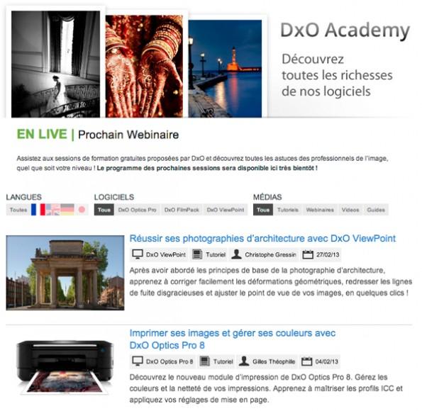 DxO Academy