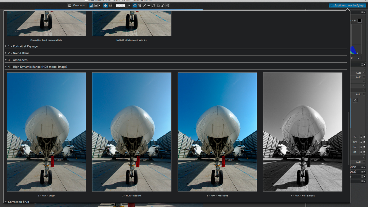 Utiliser lightroom blog archive dxo optics pro 9 une for Fenetre flottante