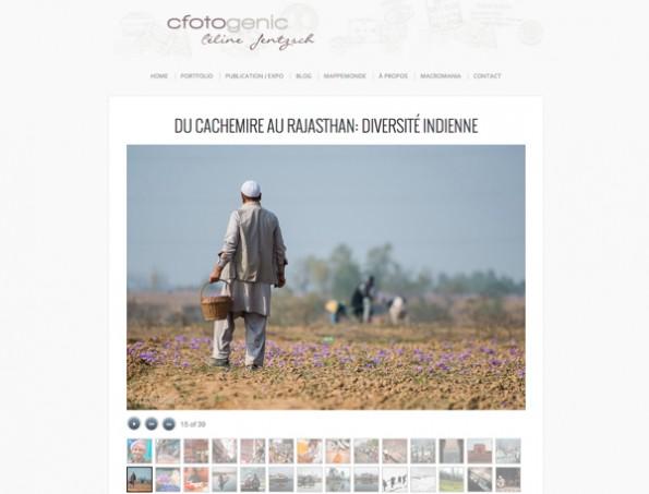Cachemire au Rajasthan par Céline