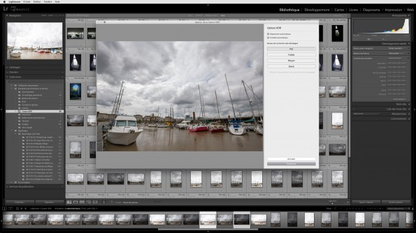 Fusion HDR dans Lightroom CC