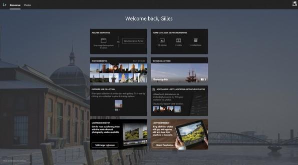 Page d'accueil Lr Web