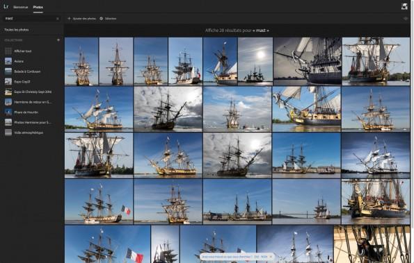 Recherche sur mast