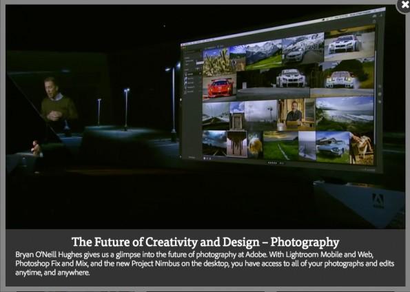 Presentation Nimbus Adobe MAX 2016