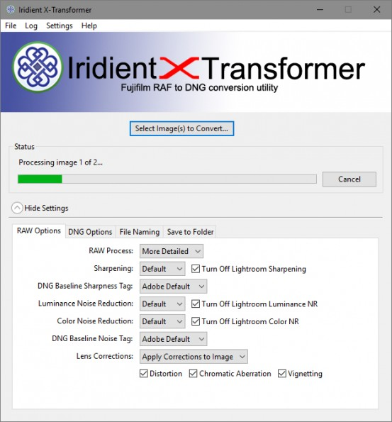 Interface X-Transformer