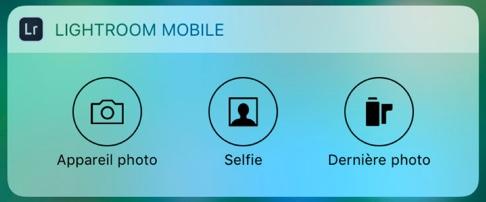 Widget LrM iOS